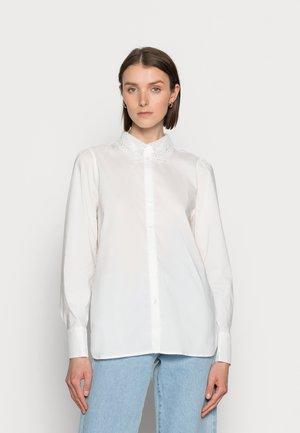 ANTONA LACE - Button-down blouse - spring gardenia