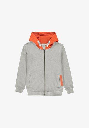 Zip-up hoodie - silver