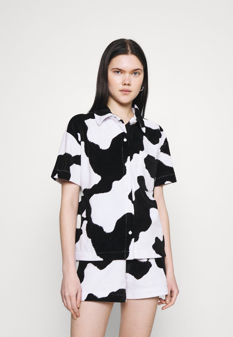 NEW girl ORDER - COW PRINT SHIRT - Pusero - multi