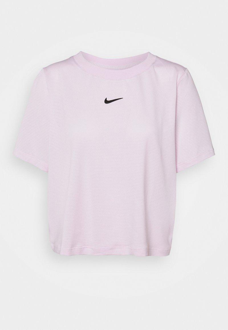 Nike Performance - T-shirts - regal pink/black