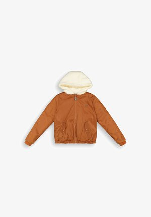 Bomber Jacket - rust brown