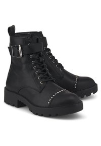 Buffalo - FINCH - Lace-up ankle boots - schwarz - 1