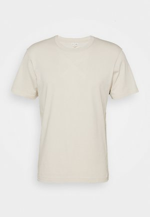 Basic T-shirt - beige dusty light