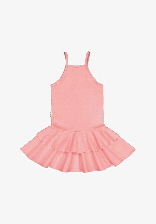 SPAGHETTI STRAP DRESS SPAGET - Day dress - pastel coral