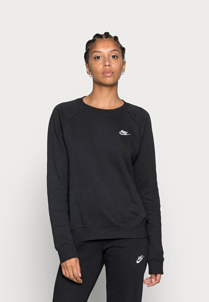 Nike Sportswear - CREW - Felpa - black/white
