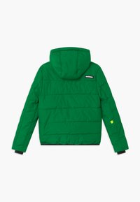 SuperRebel - SUSTAINABLE BASIC SHINY BOYS  - Snowboardová bunda - bottle green - 1