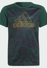 adidas Performance - B SEAS TEE - T-Shirt print - green - 6