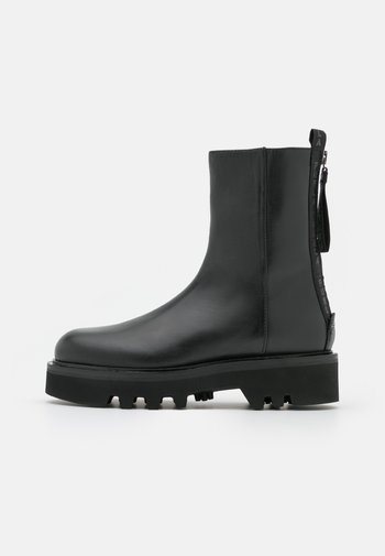 RITA MID BOOT ZIP - Kotníkové boty na platformě - nero