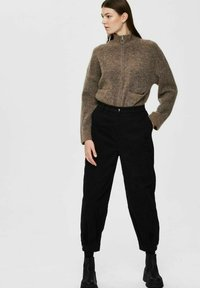 Selected Femme - Trousers - black - 3