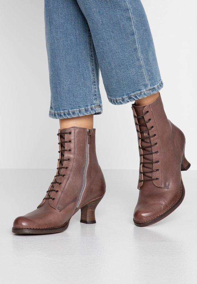 ROCOCO - Lace-up ankle boots - dakota zinc