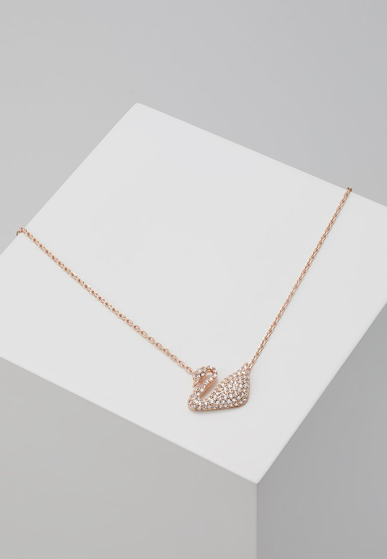 Swarovski - SWAN NECKLACE  - Necklace - crystal