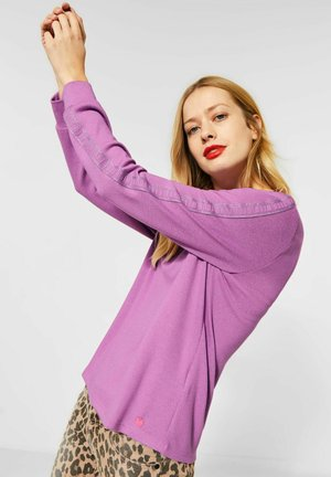 Long sleeved top - lila