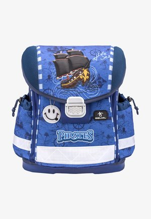 MIT INTEGRIERTEM BRUSTGURT - School bag - blau