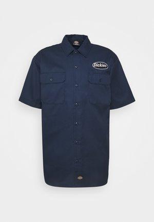 SAXMAN SHIRT - Skjorter - navy blue