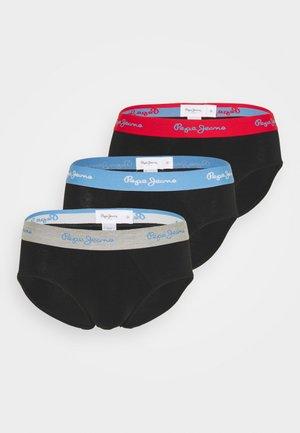 ALCOTT 3 PACK - Slip - red/blue/grey