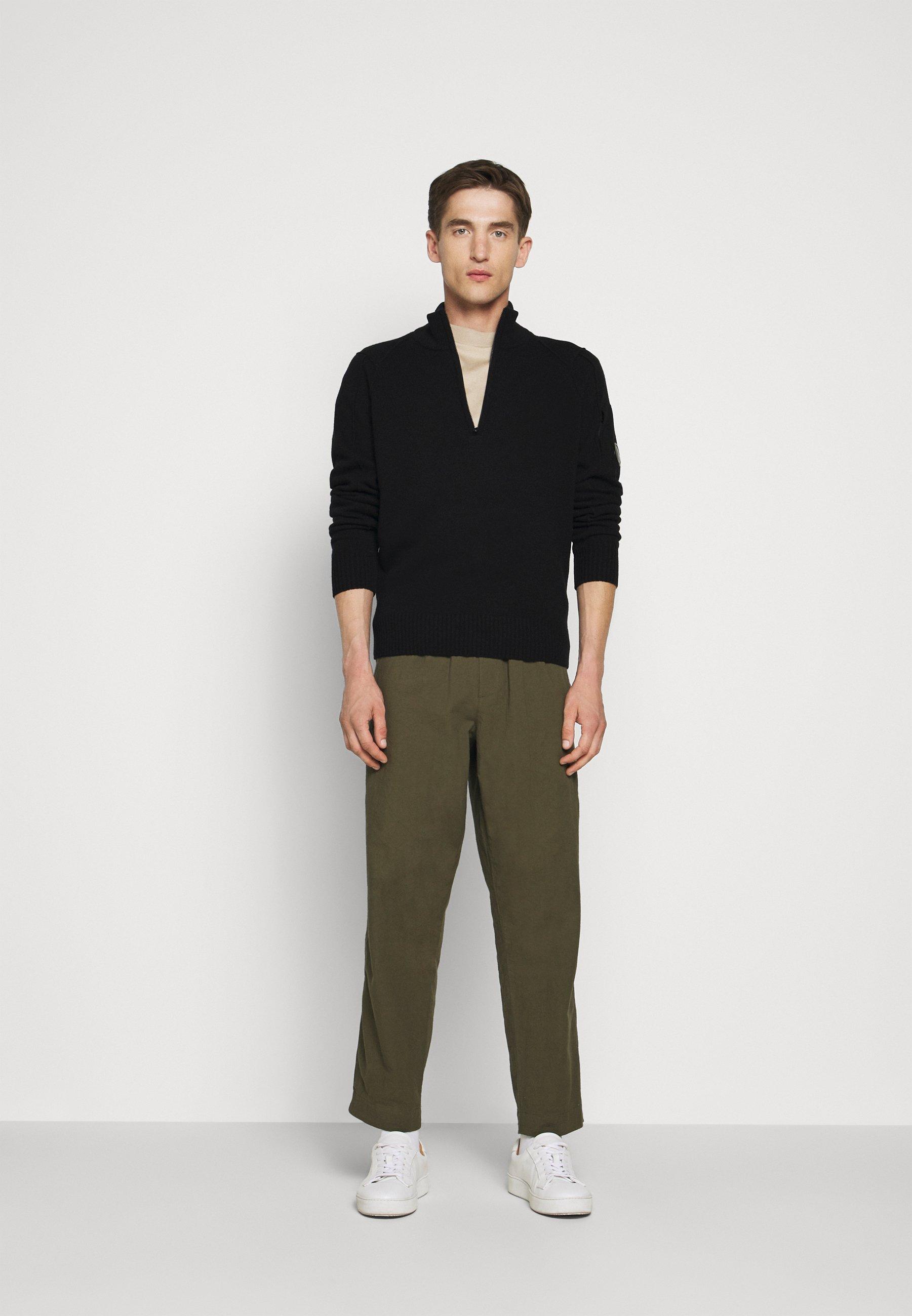 C.p. Company Collar - Strickpullover Black