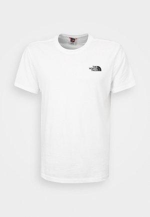 REDBOX TEE - T-shirt z nadrukiem - white
