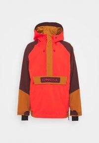 ORIGINAL ANORAK - Hardshell jacket - fiery red