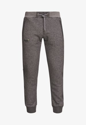 ORANGE LABEL CLASSIC - Tracksuit bottoms - mid grey texture