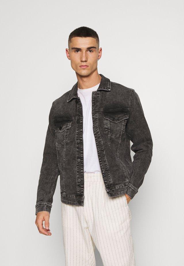 ONSCOME LIFE TRUCKER - Denim jacket - grey denim