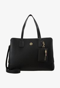 Tommy Hilfiger - CHARMING WORK BAG SET - Portfölj / Datorväska - black - 7