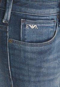 Emporio Armani - POCKETS PANT - Straight leg jeans - blue denim - 2