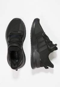 adidas Originals - U_PATH RUN - Matalavartiset tennarit - black - 1