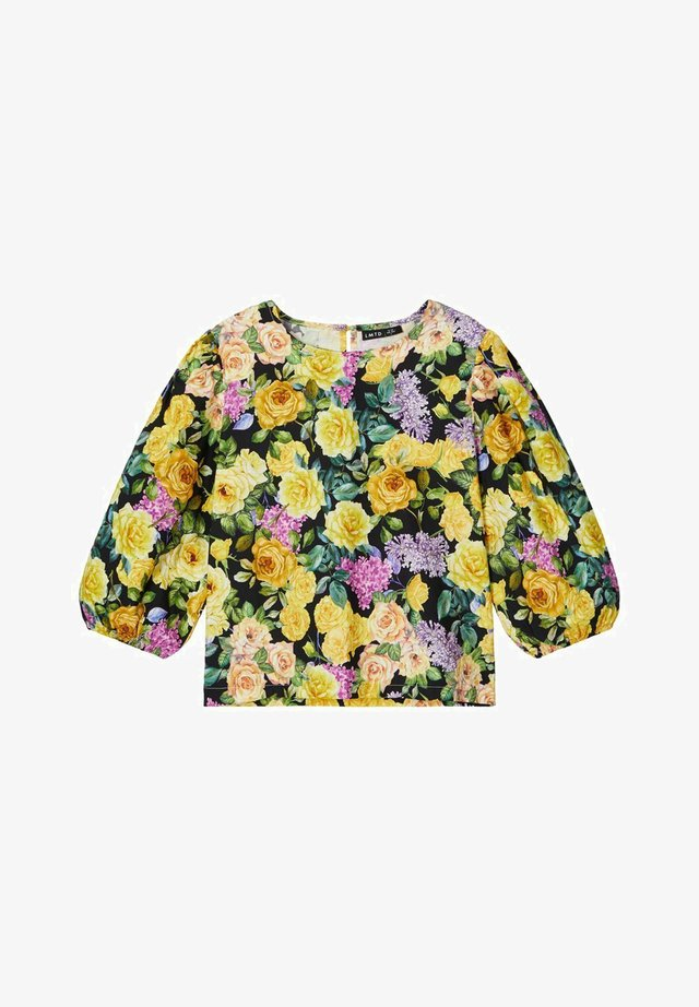 Blouse - yolk yellow