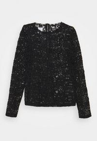 SALSACATE MAGLIA LOGATO - Long sleeved top - black