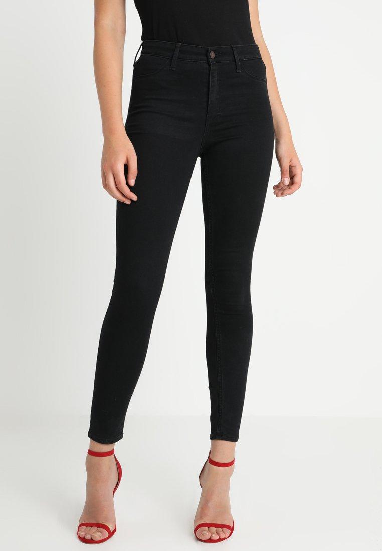Hollister Co. - CLEAN - Skinny džíny - black