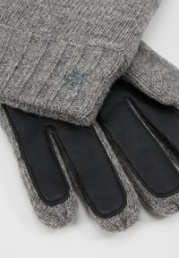 Marc O'Polo - GLOVES WITH TOUCH SCREEN FINGER - Gloves - graphite grey melange