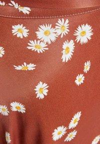 Bershka - Áčková sukně - brown - 5