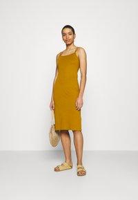 Zign - Vestido ligero - brown - 1