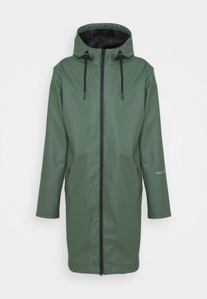 TECHNICAL RAINCOAT - Parkaer - duck green