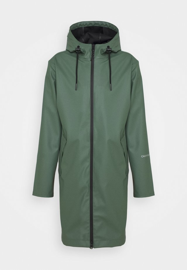 TECHNICAL RAINCOAT - Parka - duck green