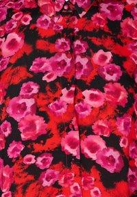Zizzi - Maxi dress - red flower aop - 5