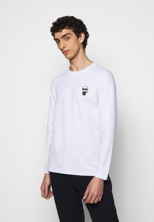 CREWNECK - Long sleeved top - white