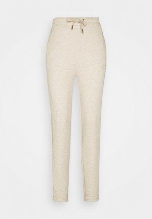 Pyjama bottoms - light brown melange