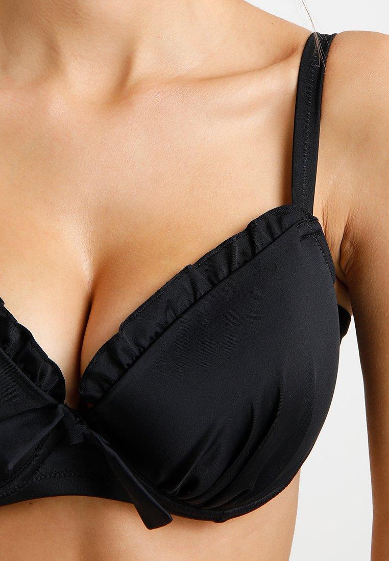 Pour Moi SPLASH PADDED UNDERWIRED - Bikini-Top - black/schwarz onB7ov