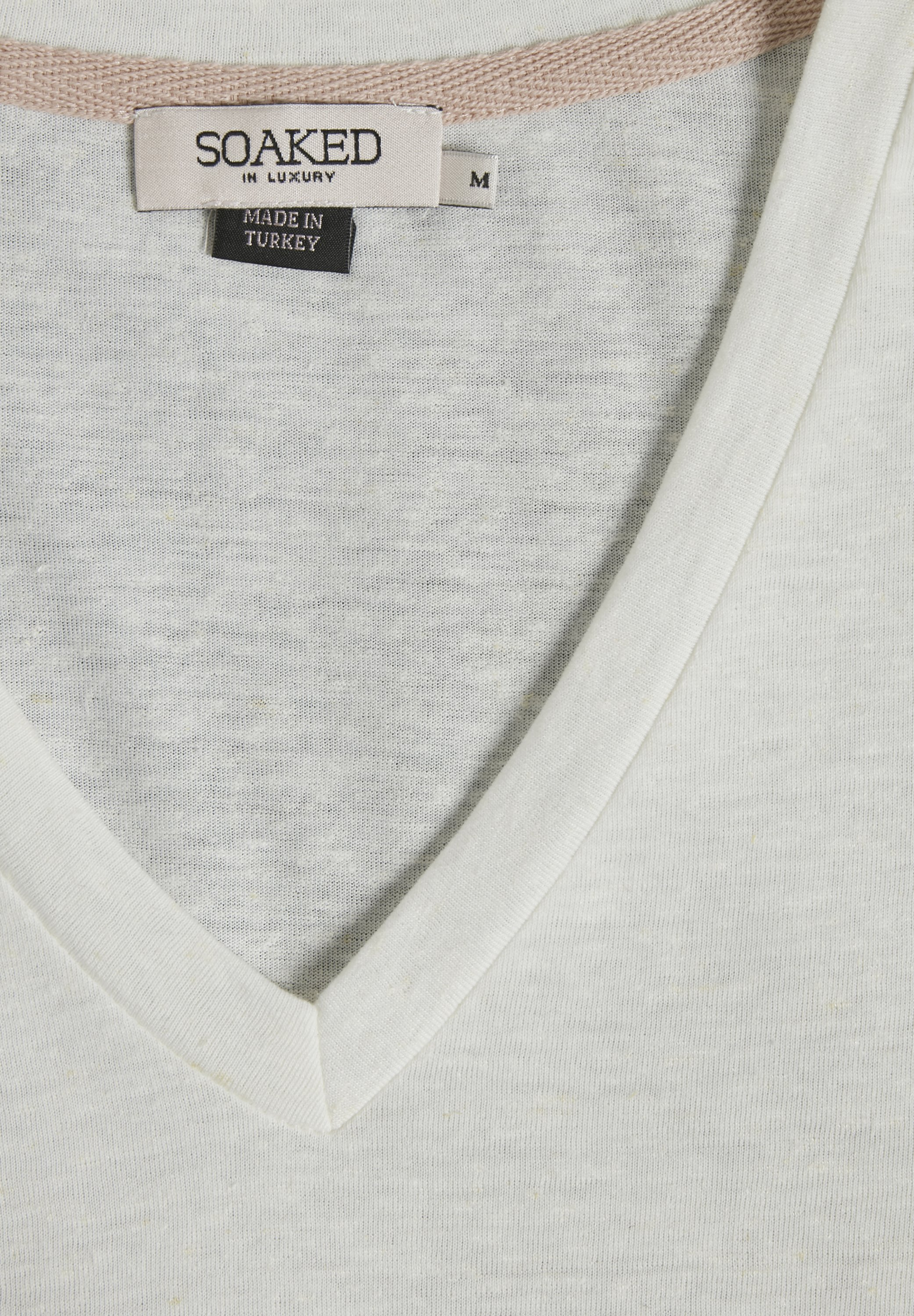 Soaked In Luxury T-shirts - White/creme/offwhite