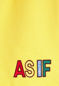 AS IF Clothing - COZY UNISEX - Tracksuit bottoms - yellow - 2