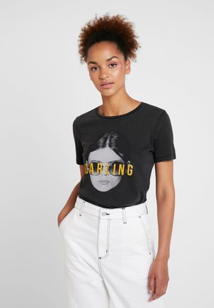 ONLVIVIAN - Print T-shirt - black/darling