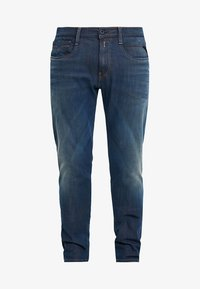 ANBASS HYPERFLEX - Straight leg jeans - medium blue