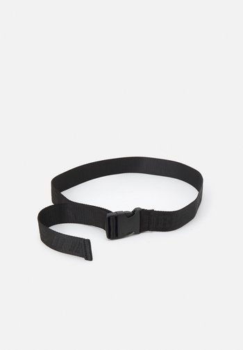 CLIP BUCKLE BELT UNISEX - Pásek - black
