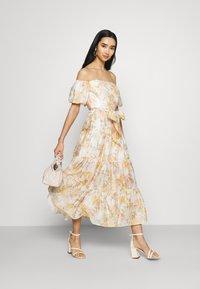 Forever New - LIA OFF SHOULDER TIERED MIDI DRESS - Maxi dress - vintage splendor - 1
