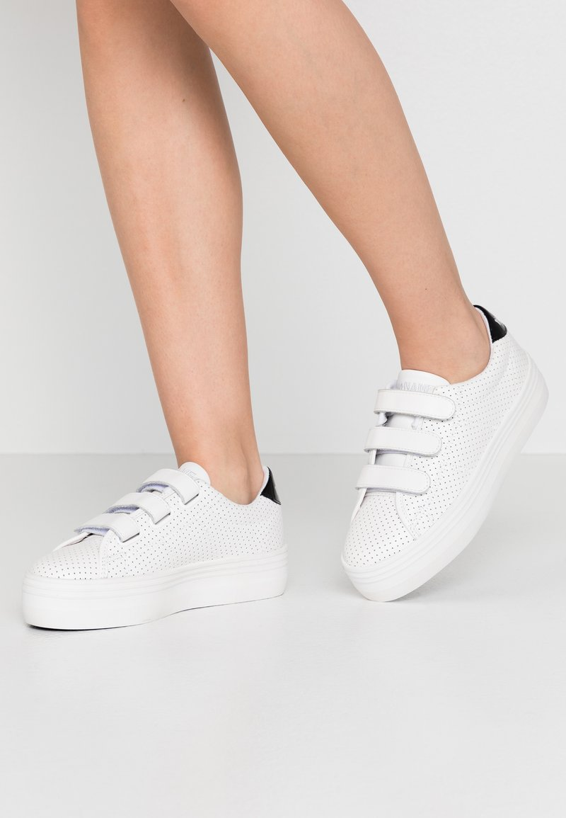 No Name - PLATO STRAPS - Trainers - white/fox white
