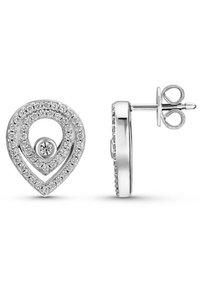 JETTE - Earrings - silver-coloured - 2