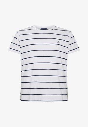 BRETON STRIPE - Print T-shirt - eggshell