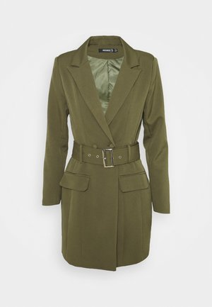 BELTED BLAZER DRESS - Etui-jurk - sage
