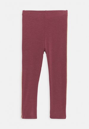 BABY PAULA - Leggings - Trousers - oxblood red